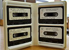 Oral History Cassettes